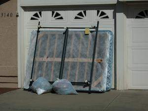 Trash removal san diego fred 39 s junk removal for Mattress cleaning service san diego