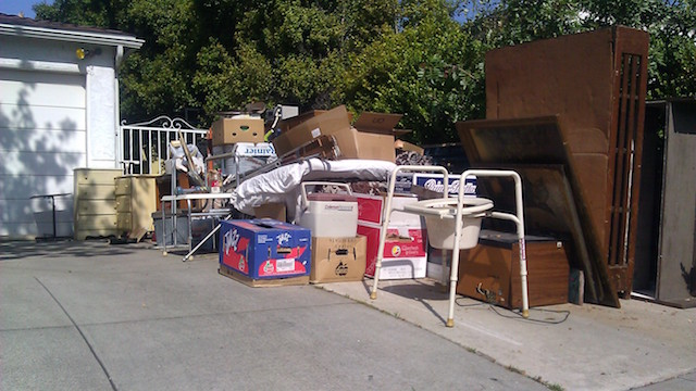 Full Truck Load Of Junk Fred S Junk Removal