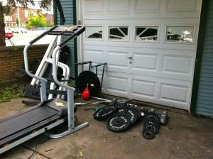 Exercise Equipment Removal San Diego
