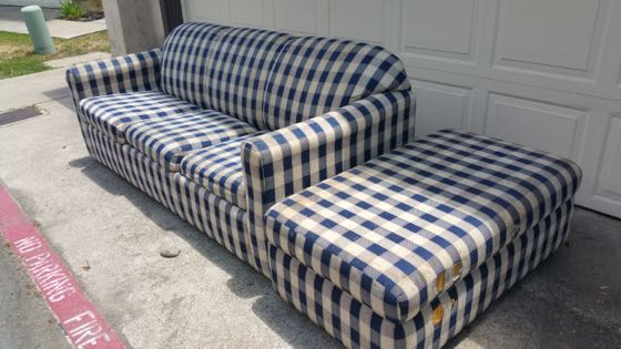 old couch disposal