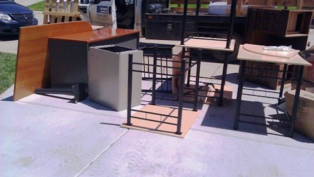 Office furniture removal san diego fred 39 s junk removal for Furniture removal