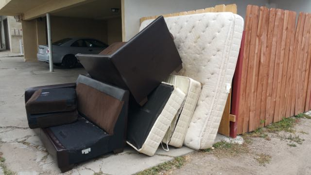 Nice This Is The Cheapest Furniture Removal Deal In San Diego. We Picked Up This  Two Piece Sectional Sofa And King Size Mattress Set For Only $99.